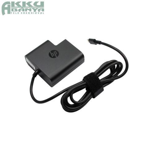HP USB3.1 Type-C csatlakozású töltő 65W, gyári