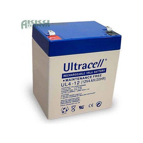 ULTRACELL 12V 4Ah akkumulátor UL4-12 AU-12024