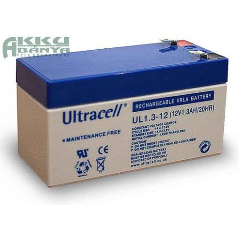 ULTRACELL 12V 1,3Ah akkumulátor UL1,3-12  AU-12013