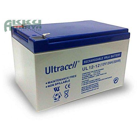 ULTRACELL 12V 12Ah akkumulátor UL12-12 AU-12120