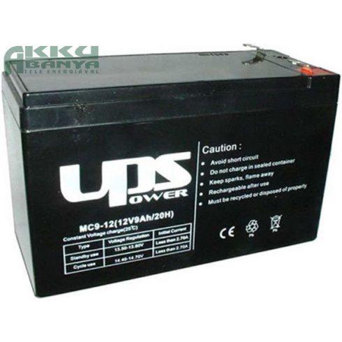 UPS 12V 9Ah F2 akkumulátor