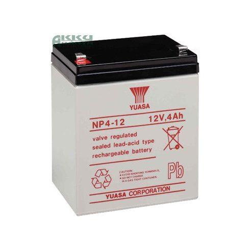 YUASA 12V 4Ah akkumulátor NP4-12