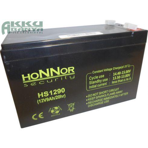 HONNOR 12V 9Ah akkumulátor HS1290