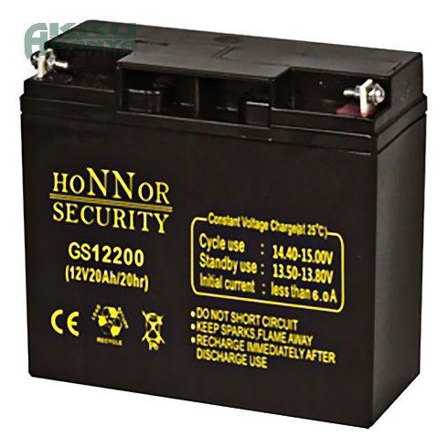 HONNOR 12V 20Ah akkumulátor