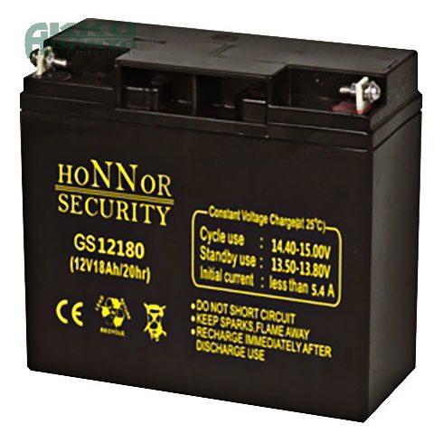 HONNOR 12V 18Ah akkumulátor GS12180