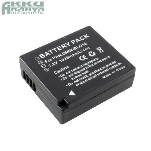 Panasonic DMW-BLG10 akkumulátor 1025mAh, utángyártott