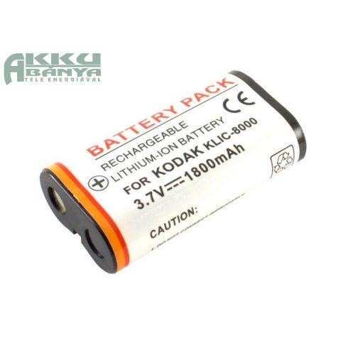 Kodak KLIC-8000 akkumulátor 1800mAh utángyártott