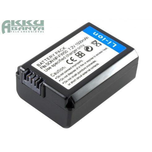 Sony NP-FW50 akkumulátor 1500mAh, utángyártott