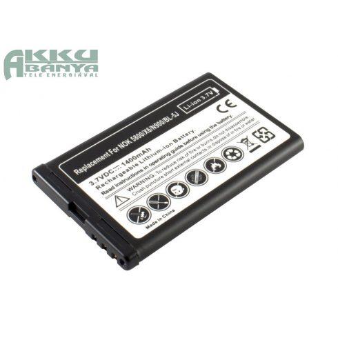 Nokia 5800 Xpress Music akkumulátor 1320mAh utángyártott