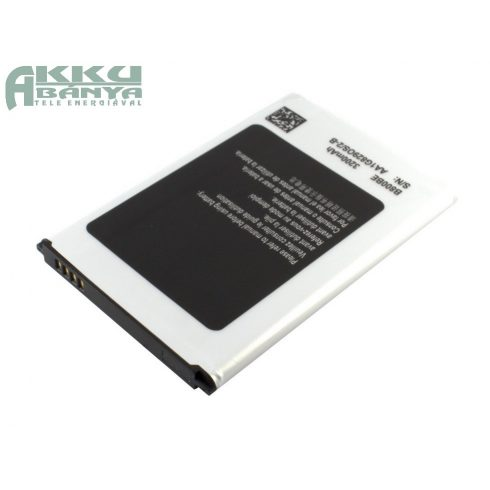 Samsung Galaxy Note 3 akkumulátor 3200mAh utángyártott