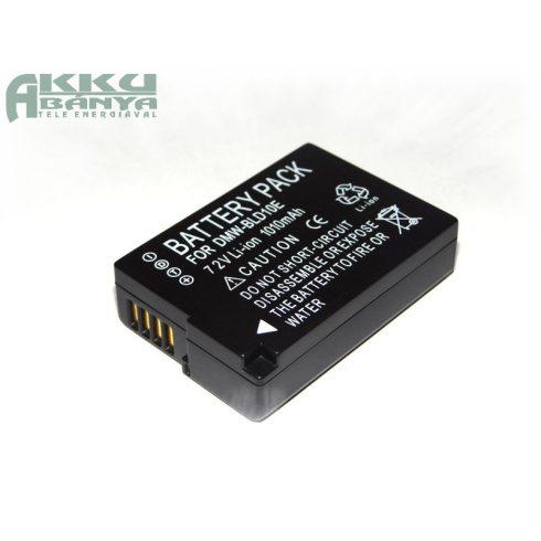 Panasonic DMW-BLD10, 1010 mAh, 7,4 V akkumulátor (Utángyártott)
