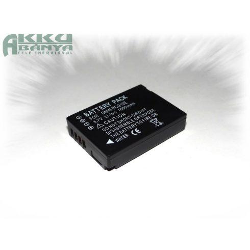 Panasonic DMW-BCG10, 1000 mAh, 3,7 V akkumulátor (Utángyártott)