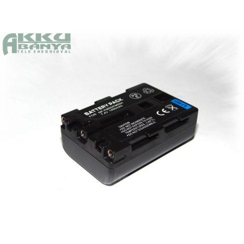Sony NP-FM55H, NP-FM50 1600 mAh, 7,4 V akkumulátor (Utángyártott)