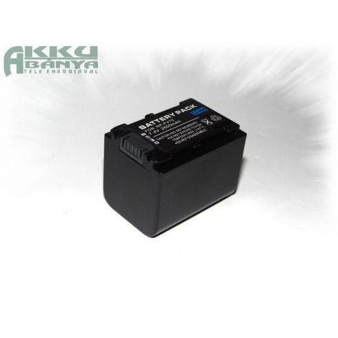 Sony NP-FV70, 2500 mAh, 7,4 V akkumulátor (Utángyártott)